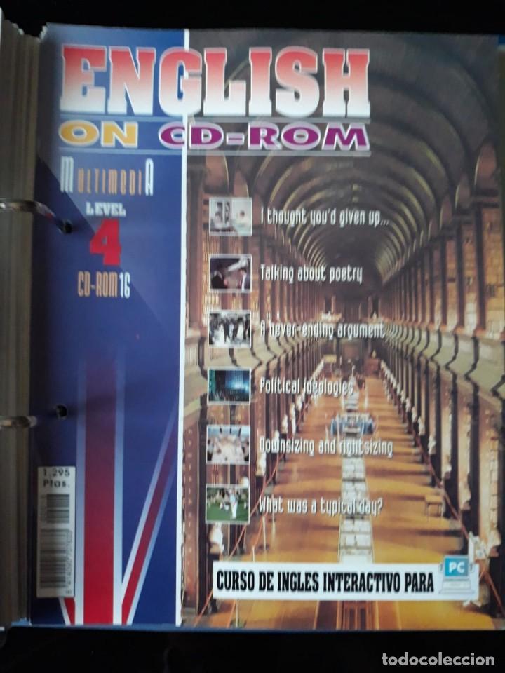 Libros de segunda mano: CURSO COMPLETO DE INGLES: ENCLISH ON CD-ROM EDITORIAL: E & G.1995 - Foto 8 - 140571438