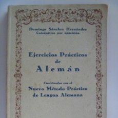 Libros de segunda mano: EJERCICION PRACTICOS DE ALEMAN . BILBAO, 1943 .. POSIBLEMENTE DE ALGUN MIEMBRO DE LA DIVISION AZUL.. Lote 140665154