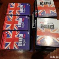 Libros de segunda mano: CURSO BBC ENGLISH PLUS 30 CD-ROM + 30 DVD. Lote 237250390