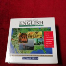 Libros de segunda mano: LEARN TO SPEAK ENGLISH. CURSO INTERACTIVO COMPLETO. 7 CD ROMS. Lote 142425881