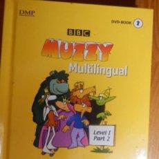 Libros de segunda mano: CURSO DVD MUZZY MULTILINGUAL LEVEL I, PART 2. NIÑOS. ENGLISH, ESPAÑOL, FRANCAIS, DEUTSCH, ITALIANO. Lote 142834506