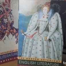 Libros de segunda mano: THE NORTON ANTHOLOGY. ENGLISH LITERATURE. VOLUME 1. MAS MEDIA COMPANION.. Lote 142889922