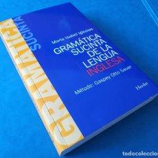 Libros de segunda mano: GRAMATICA SUCINTA LENGUA INGLESA - MARÍA ISABEL IGLESIAS - ISBN: 9788425408076 - INGLÉS -. Lote 142963926