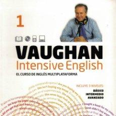 Libros de segunda mano: VAUGHAN INTENSIVE ENGLISH 1. Lote 142976954