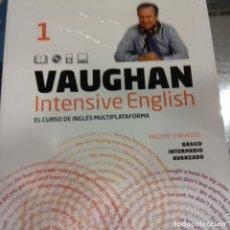 Libros de segunda mano: INTENSIVE ENGLISH 1 VAUGHAN . Lote 143088906