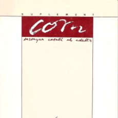 Libros de segunda mano: MAPES PER A L'ESTUDI DE LA LLENGUA CATALANA. GRAMÁTICA CATALANA. Lote 144512410
