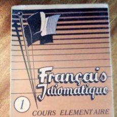 Libros de segunda mano: FRANÇAIS IDIOMATIQUE. COURS ELEMENTAIRE. 1.954. MÉTHODE VOX. Lote 145268366