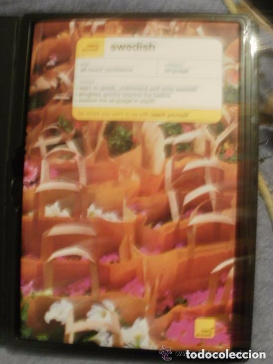 Libros de segunda mano: SWEDISH BOOK curso de sueco con libro 336 y 2 CDs de 65 minutos cada uno - INGLES CON SUECO solo - Foto 2 - 145777562