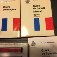 Libros de segunda mano: CURSO DE FRANCES ANTIGUO. Lote 147222849