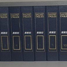 Libros de segunda mano: CURSO COMPLETO DE LA BBC ENGLISH SALVAT 12 TOMOS + DICCIONARIO - ARM01. Lote 172403685