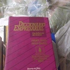 Libros de segunda mano: DICCIONARIO EMPRESARIAL ESPAÑOL INGLES , INGLÉS ESPAÑOL 3700 TERMINOS. Lote 147515110