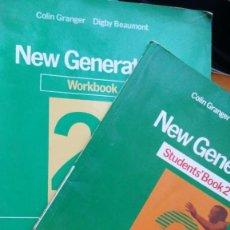Libros de segunda mano: NEW GENERATION STUDENTS BOOK 2 BUP, HEINEMANN. Lote 147713106