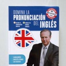 Libros de segunda mano: DOMINA LA PRONUNCIACIÓN DEL INGLÉS / VAUGHAN SYSTEMS 2014. Lote 147735142