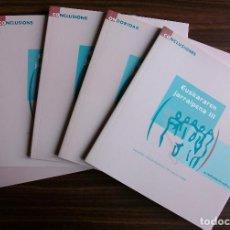Libros de segunda mano: EUSKAL HERRIKO SOZIOLINGUISTIKAZKO INKESTA 2001. EUSKARAREN JARRAIPENA III. Lote 147772994