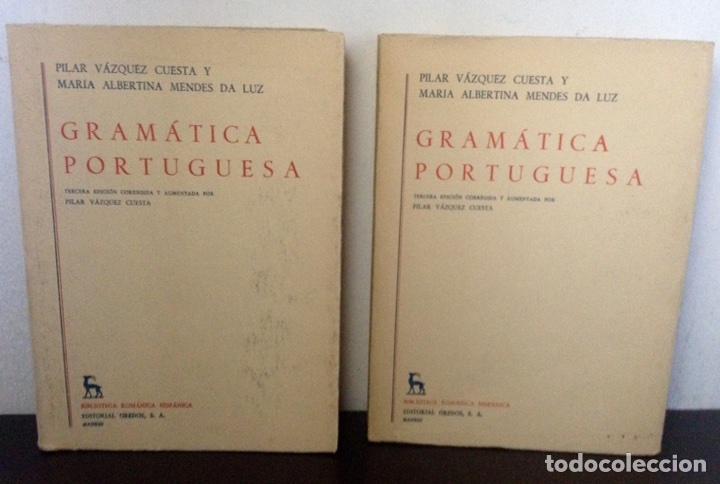 GRAMÁTICA PORTUGUESA, BIBLIOTECA ROMÁNICA HISPÁNICA, 9, MADRID, 3ª EDICIÓN CORREGIDA GREDOS, 1971. (Libros de Segunda Mano - Cursos de Idiomas)