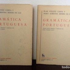 Libros de segunda mano: GRAMÁTICA PORTUGUESA, BIBLIOTECA ROMÁNICA HISPÁNICA, 9, MADRID, 3ª EDICIÓN CORREGIDA GREDOS, 1971.. Lote 147791657