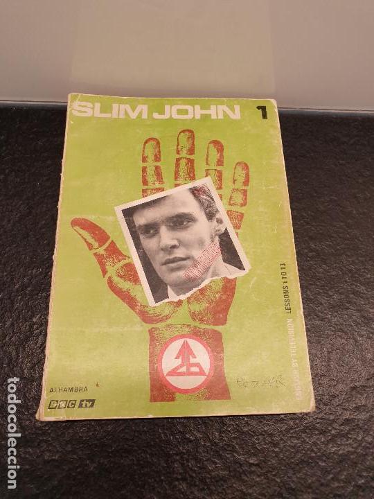 SLIM JOHN 1. BBC TV. PRIMERA PARTE LECCIONES 1 - 13. (ENVÍO 2,31€) (Libros de Segunda Mano - Cursos de Idiomas)