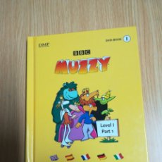Libros de segunda mano: MUZZY BBC - DVD-BOOK 1 LEVEL 1 PART 1. Lote 147930374