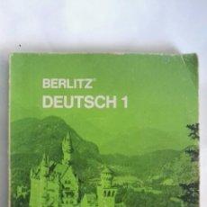 Libros de segunda mano: BERLITZ DEUTSCH 1. Lote 148370198