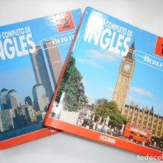 Libros de segunda mano: CURSO COMPLETO DE INGLÉS (DOS TOMOS) Y92134. Lote 148436342
