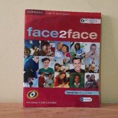 Libros de segunda mano: FACE 2 FACE A1 & A2. COMPLETO CON CD.. Lote 148503290