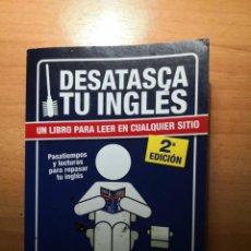 Libros de segunda mano: DESATASCA TU INGLÉS. Lote 149712290