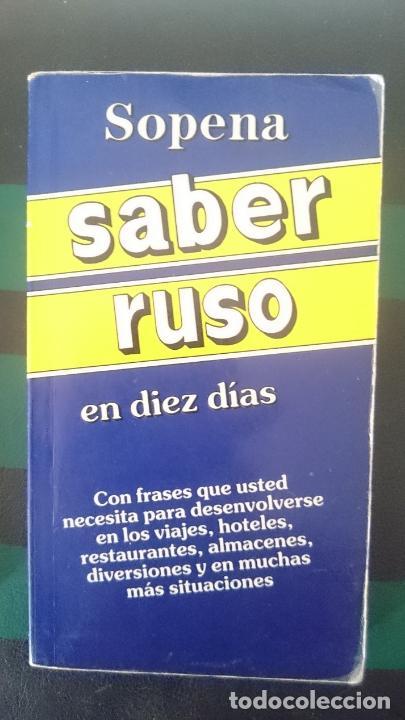 SABER RUSO EN DIEZ DIAS - ED SOPENA (Libros de Segunda Mano - Cursos de Idiomas)