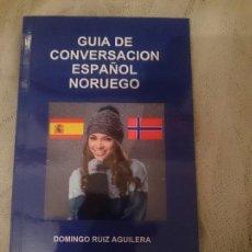 Libros de segunda mano: GUIA DE CONVERSACION ESPAÑOL NORUEGO. Lote 150796022