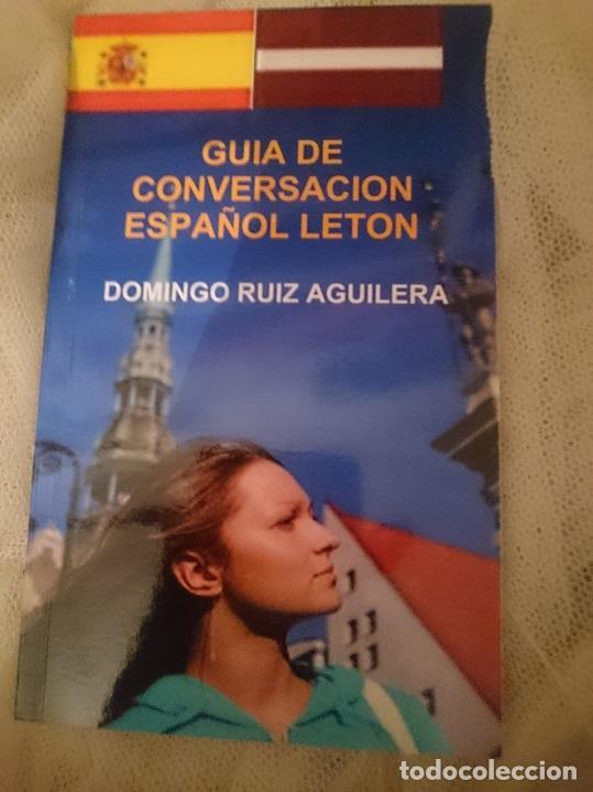GUIA DE CONVERSACION ESPAÑOL LETON (Libros de Segunda Mano - Cursos de Idiomas)