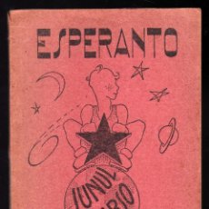 Libros de segunda mano: CURSO PARA JÓVENES DE ESPERANTO (1960) · 92 PÁGINAS (PESO: 151 GRAMOS). Lote 151321150