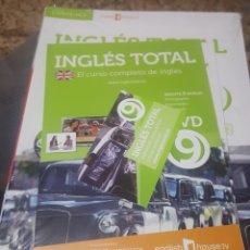 Libros de segunda mano: CURSO DE INGLÉS TOTAL VOL. 9 (CAMBRIDGE UNIVERSITY) - TAPA BLANDA (LIBRO+DVD+CD - SIN DESPRECINTAR). Lote 151428046