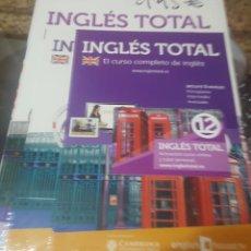 Libros de segunda mano: CURSO DE INGLÉS TOTAL VOL.12 (CAMBRIDGE UNIVERSITY) - TAPA BLANDA (LIBRO+DVD+CD - SIN DESPRECINTAR). Lote 151428538
