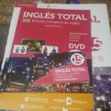 Libros de segunda mano: CURSO DE INGLÉS TOTAL VOL.15 (CAMBRIDGE UNIVERSITY) - TAPA BLANDA (LIBRO+DVD+CD - SIN DESPRECINTAR). Lote 151429318