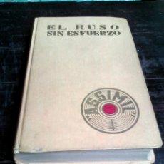 Libros de segunda mano: EL RUSO SIN ESFUERZO - ASSIMIL (1965). Lote 107055439