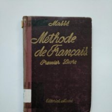 Libros de segunda mano: METHODE DE FRANÇAIS. - METODO MASSE. - PREMIER LIVRE. 26ª EDICIÓN. TDK372. Lote 154309186