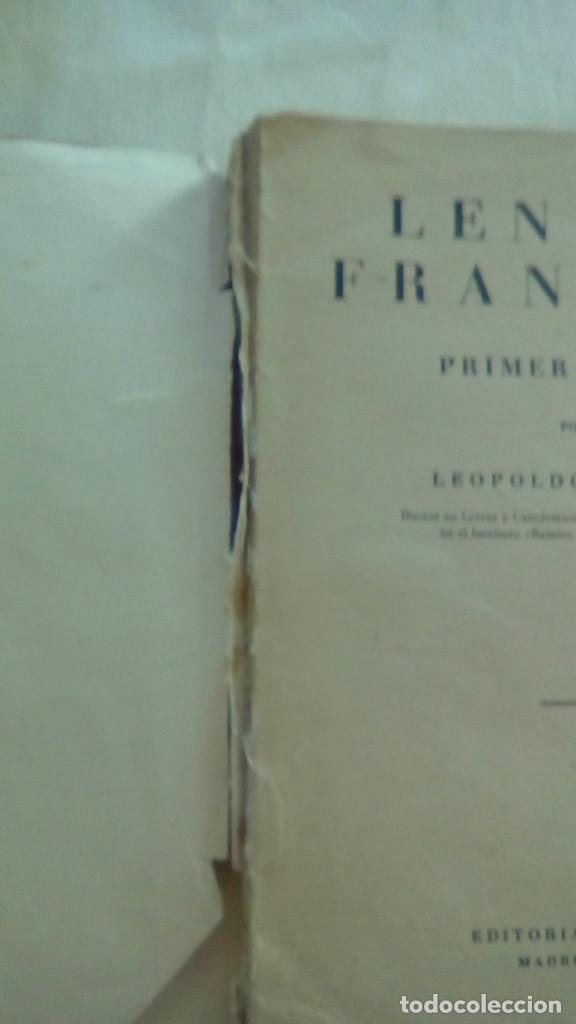 Libros de segunda mano: LENGUA FRANCESA 1er CURSO. LEOPOLDO QUEROL. EDITORIAL SUMMA,S.L. - Foto 2 - 155512730
