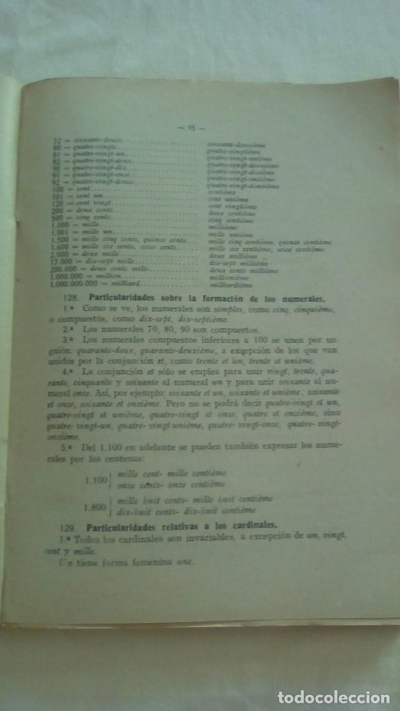 Libros de segunda mano: LENGUA FRANCESA 1er CURSO. LEOPOLDO QUEROL. EDITORIAL SUMMA,S.L. - Foto 3 - 155512730