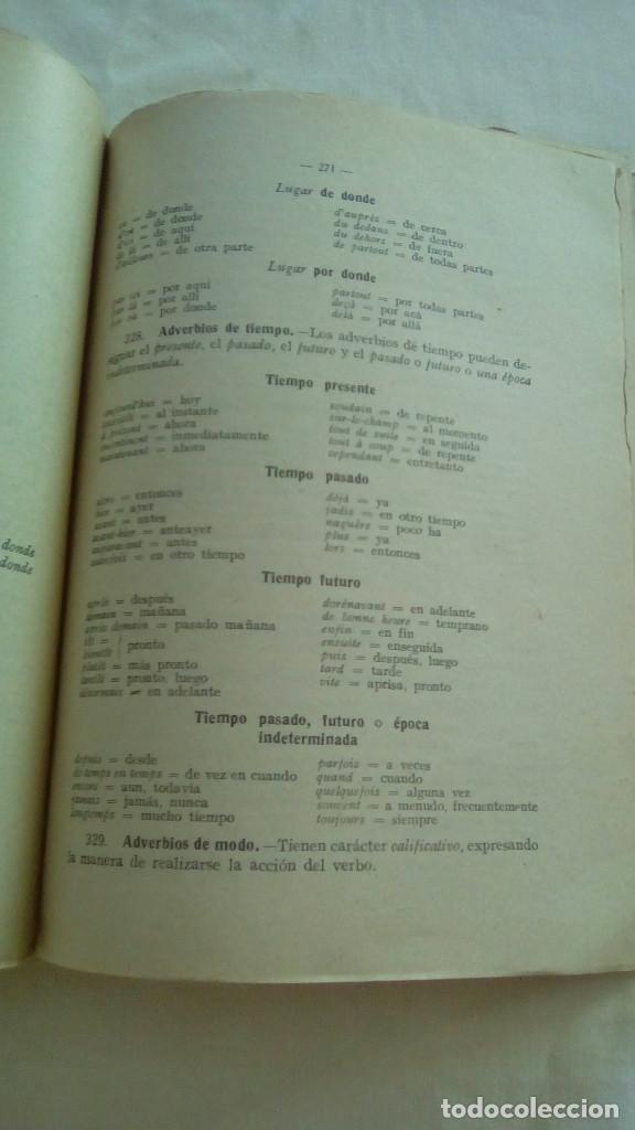 Libros de segunda mano: LENGUA FRANCESA 1er CURSO. LEOPOLDO QUEROL. EDITORIAL SUMMA,S.L. - Foto 4 - 155512730