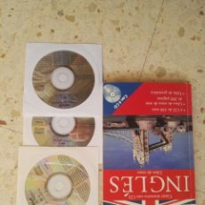 Libros de segunda mano: CURSO DE INGLES CON 3 CDS . Lote 156387338