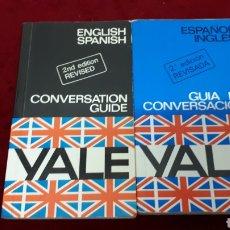 Libros de segunda mano: YALE - DOS GUIAS DE CONVERSACION (ESPAÑOL - INGLES / ENGLISH - SPANISH). Lote 156469586