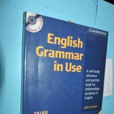 Libros de segunda mano: ENGLISH GRAMMAR IN USE. RAYMOND MURPHY. ED. CAMBRIDGE UNIVERSITY PRESS. 2004. THIRD EDITION. Lote 156499214