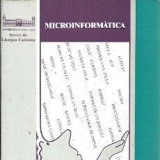 Libros de segunda mano: MICROINFORMATICA VOCAVULARI SERVEI DE LLENGUA CATALANA. Lote 156671946