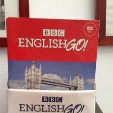 Libros de segunda mano: CURSO BBC ENGLISH GO. 14 LIBROS+ 30 DVD+ 30 CD ROM. A ESTRENAR!!!!!. Lote 157218842