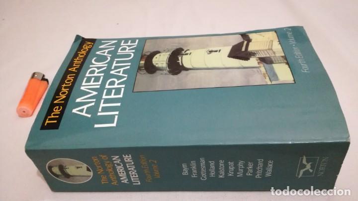 THE NORTON ANTHOLOGY OF AMERICAN LITERATURE. VOL 2 ANTOLOGIA LITERATURA AMERICANA FILOLOGÍA (Libros de Segunda Mano - Cursos de Idiomas)