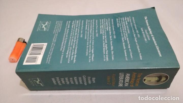 Libros de segunda mano: THE NORTON ANTHOLOGY OF AMERICAN LITERATURE. Vol 2 ANTOLOGIA LITERATURA AMERICANA FILOLOGÍA - Foto 2 - 158404686