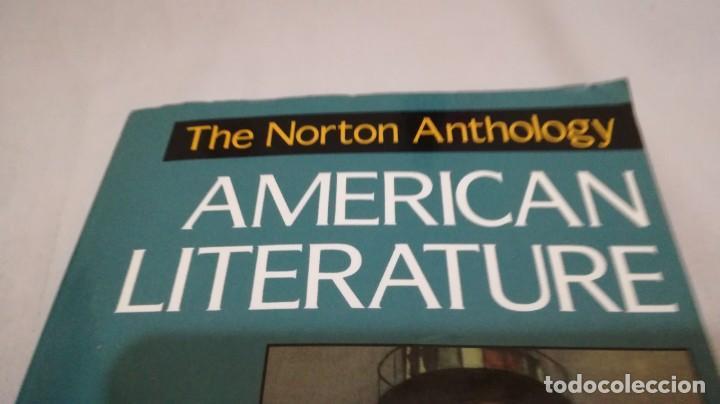 Libros de segunda mano: THE NORTON ANTHOLOGY OF AMERICAN LITERATURE. Vol 2 ANTOLOGIA LITERATURA AMERICANA FILOLOGÍA - Foto 4 - 158404686
