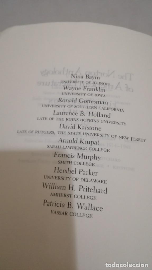 Libros de segunda mano: THE NORTON ANTHOLOGY OF AMERICAN LITERATURE. Vol 2 ANTOLOGIA LITERATURA AMERICANA FILOLOGÍA - Foto 9 - 158404686