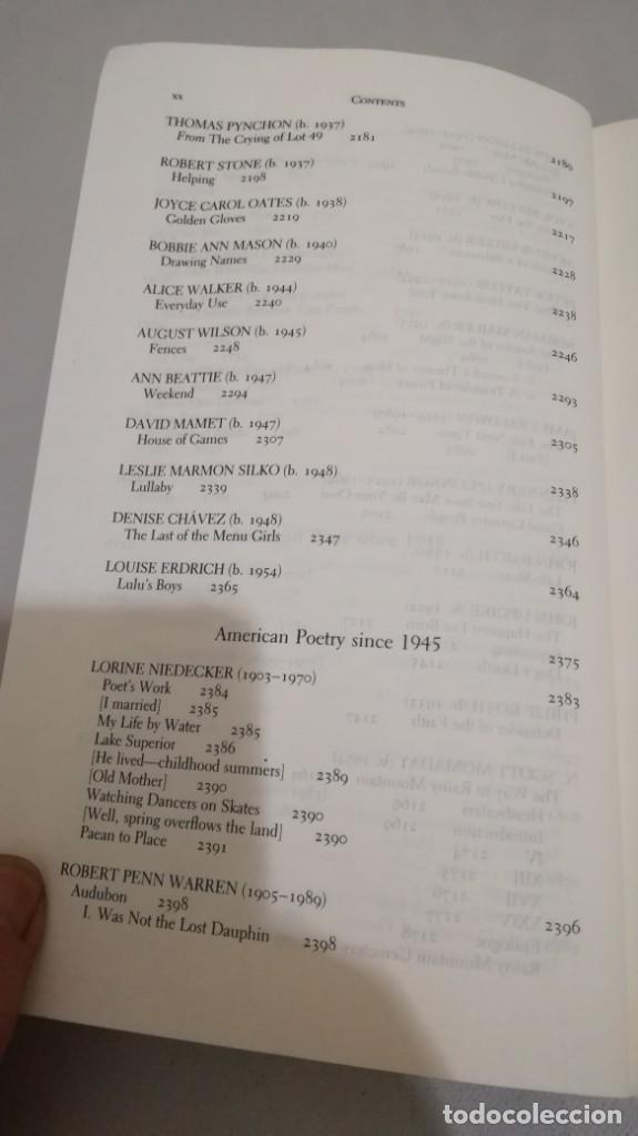 Libros de segunda mano: THE NORTON ANTHOLOGY OF AMERICAN LITERATURE. Vol 2 ANTOLOGIA LITERATURA AMERICANA FILOLOGÍA - Foto 25 - 158404686