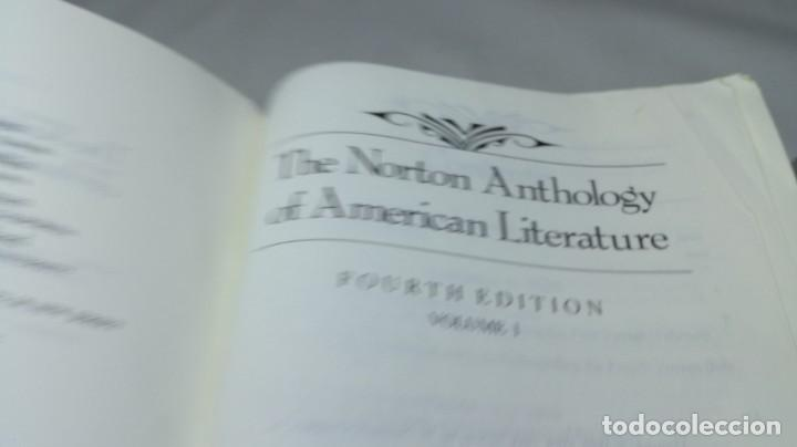 Libros de segunda mano: THE NORTON ANTHOLOGY OF AMERICAN LITERATURE. Vol 1 ANTOLOGIA LITERATURA AMERICANA FILOLOGÍA - Foto 6 - 158405378
