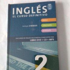 Libros de segunda mano: INGLES EL CURSO DEFINITIVO. VAUGHAN 2 ( LIBRO+CD+MP3 ). Lote 160014526